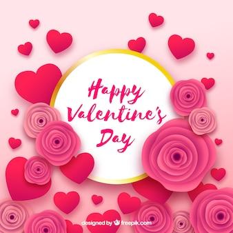 Papier gesneden Valentijnsdag