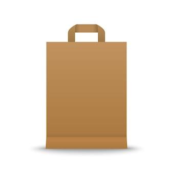 Papieren boodschappentas
