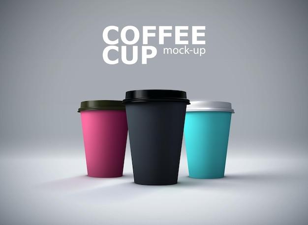 Papieren koffiekopjes