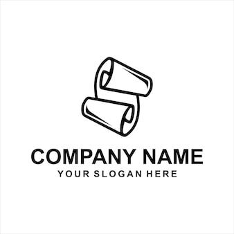 Papieren logo