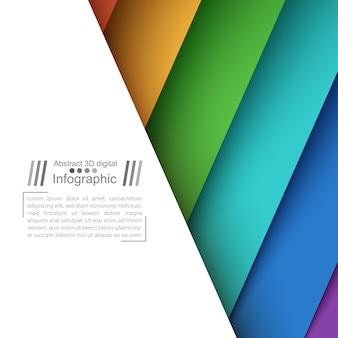 Papieren origamistijl - papieren achtergrond