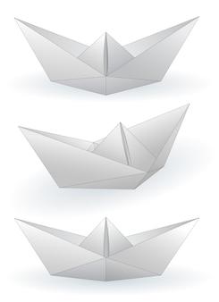 Papieren schepen