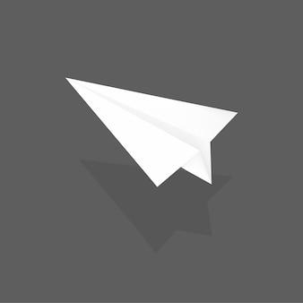 Papieren vliegtuig