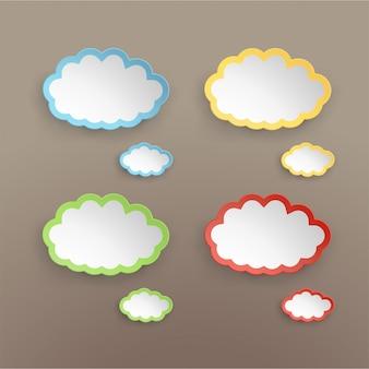 Papieren wolk