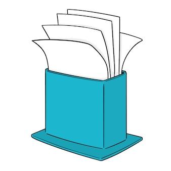 Papieren zakdoekje