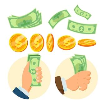 Papiergeld en munten