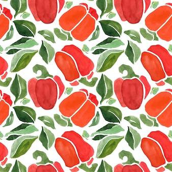 Paprika naadloos patroon
