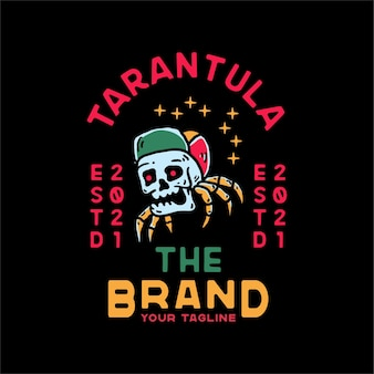 Paradise hat skull vintage stijl