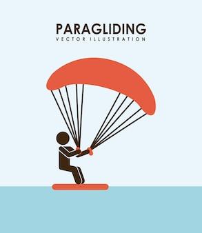 Paragliding ontwerp