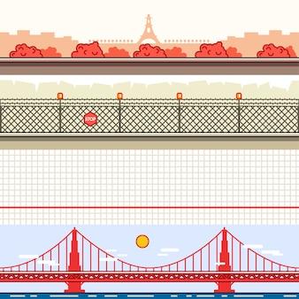 Parallax-achtergronden voor videogames