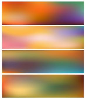 Paramasachtergronden van aard met licht.
