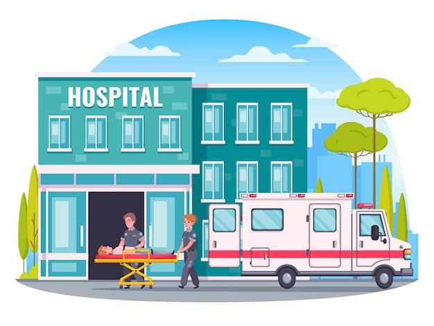 Paramedicus illustratie