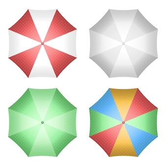 Paraplu ontwerp illustratie geïsoleerd