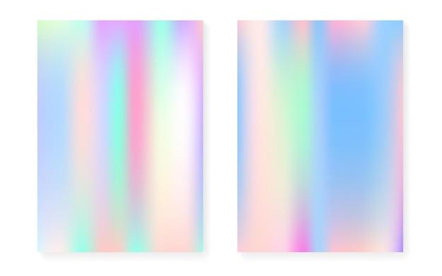 Parelmoer achtergrond met holografisch verloop