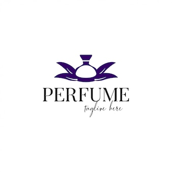 Parfum logo sjabloon