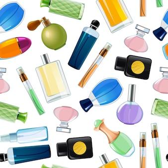 Parfumflesjes patroon