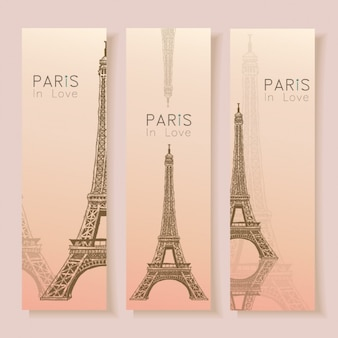 Paris banners collectie