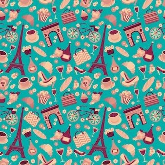 Paris patroon ontwerp