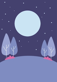 Park 's nachts
