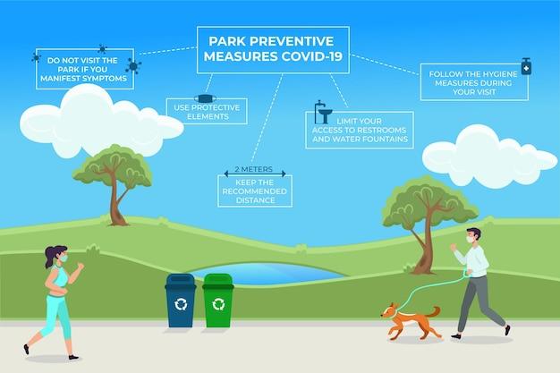 Parkeer preventieve maatregelen