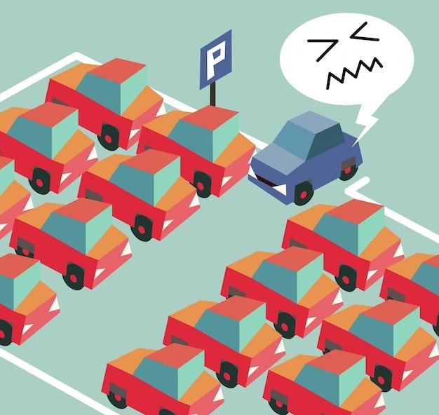 Parkeercrisis is een veel voorkomend probleem