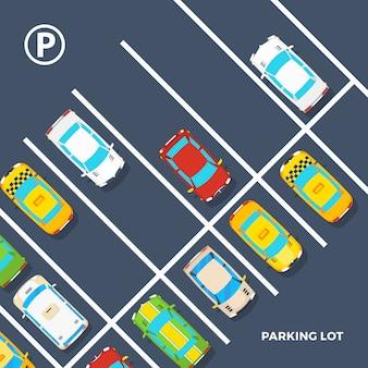 Parkeerplaats poster
