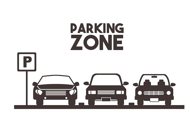 Parkeerzone ontwerp