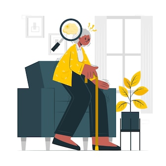 Parkinson concept illustratie