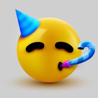 Partij gezicht emoji
