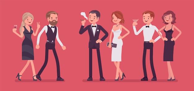 Partij van de high society
