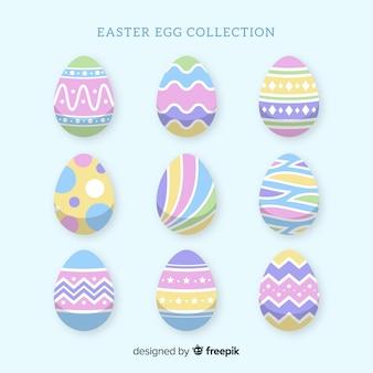 Pasen-dag ei-collectie