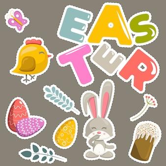Pasen-stickers geplaatst