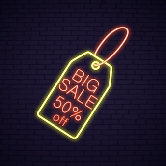 Pasen-verkoop neonuithangbord