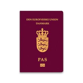 Paspoort van denemarken