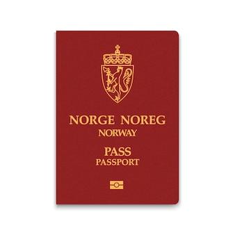 Paspoort van noorwegen