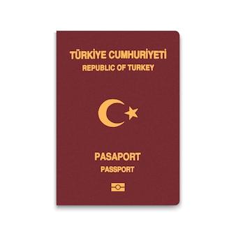Paspoort van turkije