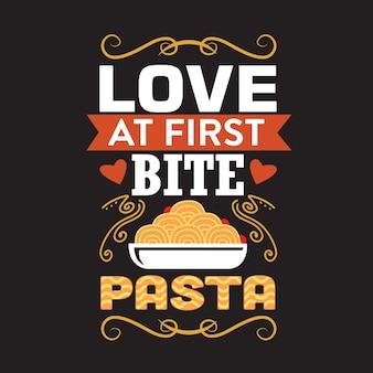 Pasta citaat en gezegde.
