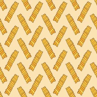 Pasta naadloze patroon