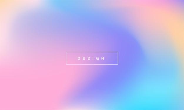 Pastel abstracte gradiëntachtergronden zacht zacht roze blauw paars en oranje gradiënten