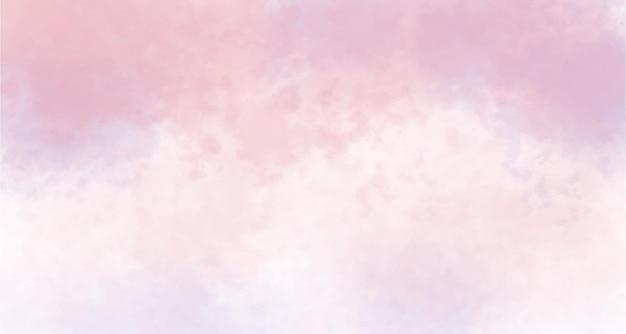 Pastel aquarel banner