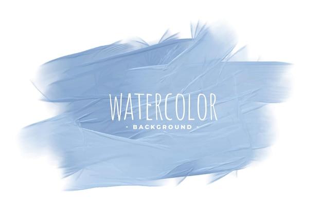 Pastel blauwe aquarel textuur concept achtergrond