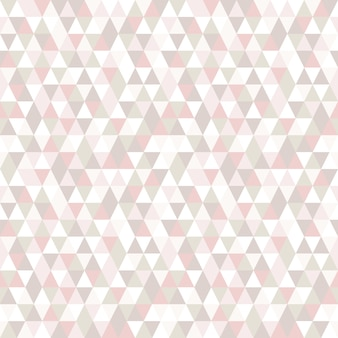Pastel kleur driehoek naadloze patroon.