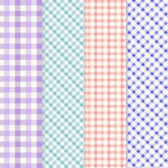 Pastel pastel patroon collectie