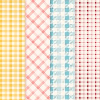 Pastel pastel patroon pack