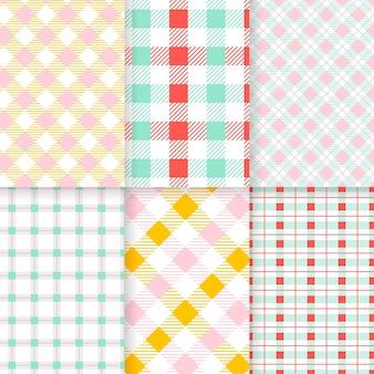 Pastel pastel patroon