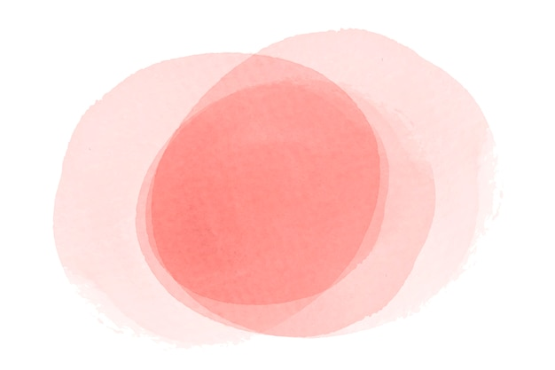 Pastel perzik aquarel achtergrond