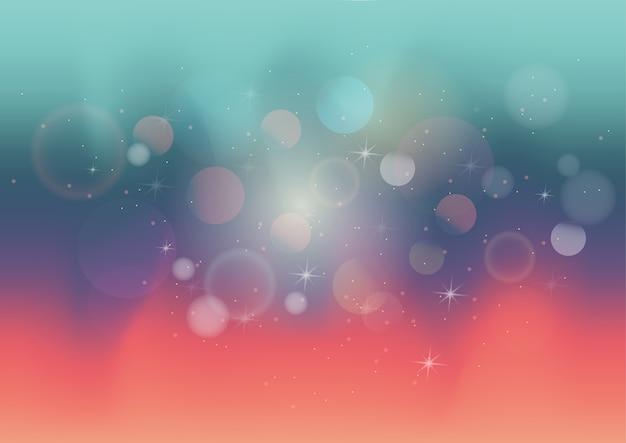 Pastelkleur abstracte achtergrond met bokeh