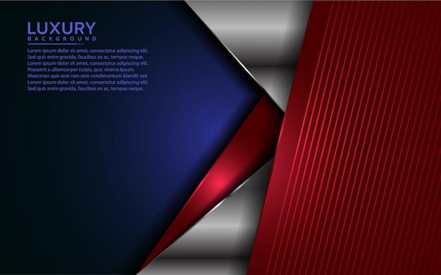 Patriot moderne achtergrond met overlappingslaag