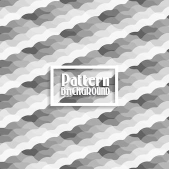 Patroon achtergrond met een grijstinten ontwerp