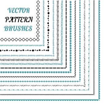 Patroon borstels collectie